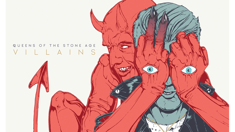 "QUEENS OF THE STONE AGE – ""Villains"""