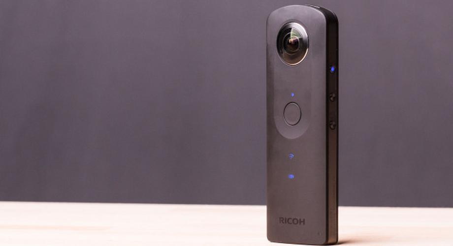 Ricoh Theta S im Test: 360-Grad-Kamera für Virtual-Reality-Filme