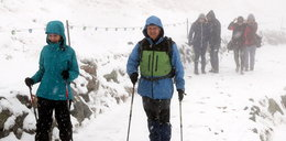Atak zimy w Tatrach. Tak wygląda Kasprowy