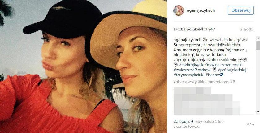 Agnieszka Szulim i Blanka Jordan