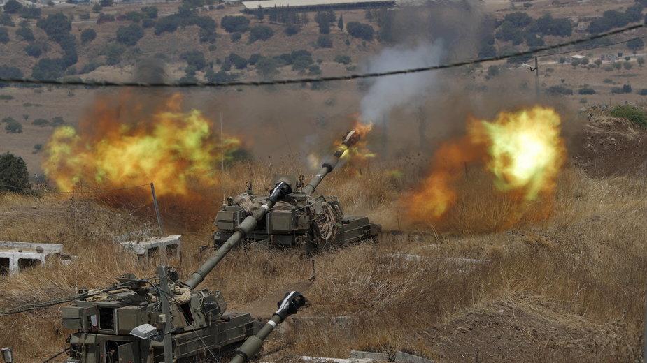 Izraelska artyleria