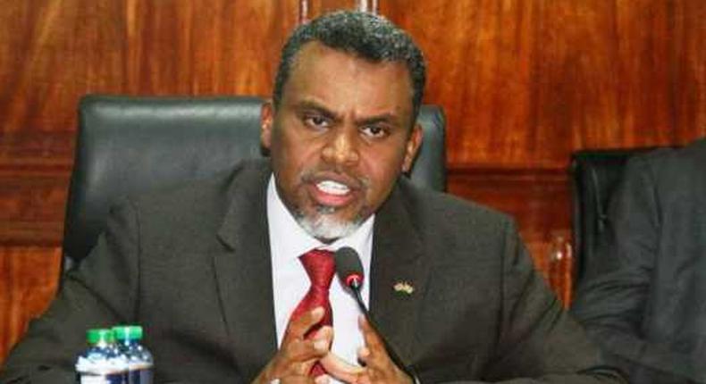 Director Public Prosecutions Noordin Haji