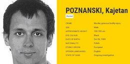 Poznański na liście najgroźniejszych zbrodniarzy. Ściga go Interpol