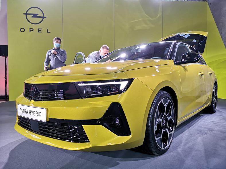 Opel Astra nowej generacji
