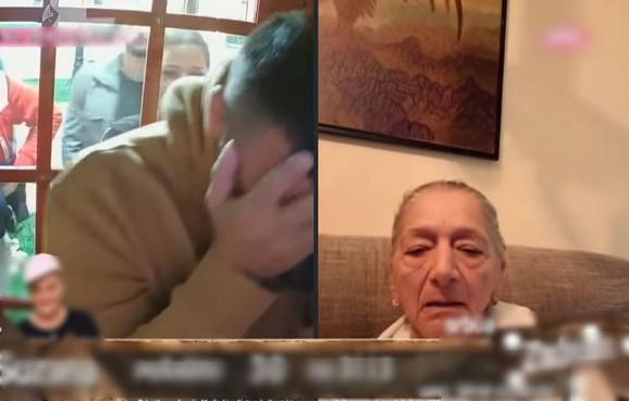 Vladimir Tomović razgovara sa majkom