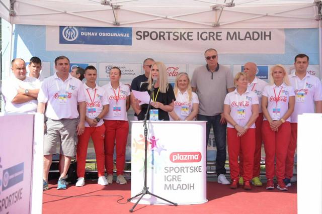 Otvaranje Sportskih igara mladih