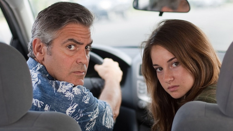 "George Clooney w filmie ""The Descendants"""