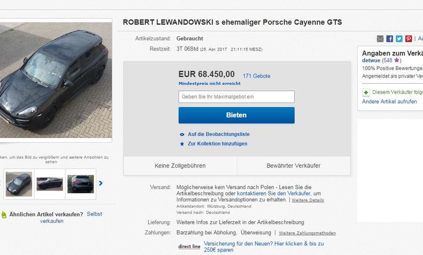 Niemiec sprzedaje auto po Polaku