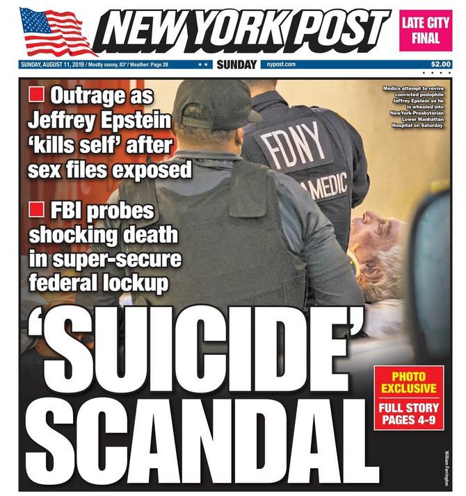 Vest o samoubistvu u