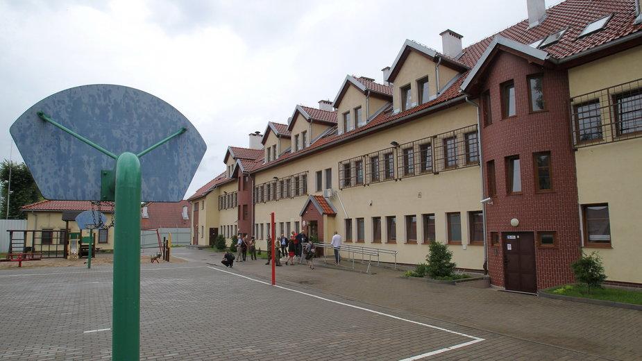 Strzeżony ośrodek dla cudzoziemców, na terenie Warmińsko-Mazurskiego Oddziału Straży Granicznej