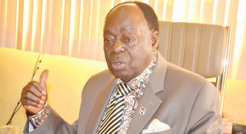 Prof Afe Babalola, founder of Afe Babalola University, Ado Ekiti