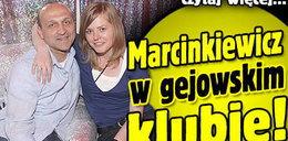 Marcinkiewicz w gejowskim klubie!