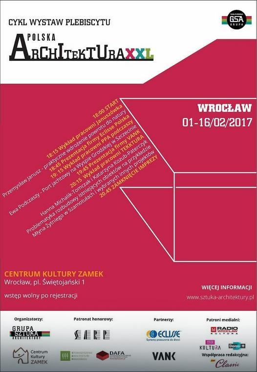 Polska architektura XXL - wystawa odwiedzi Wrocław