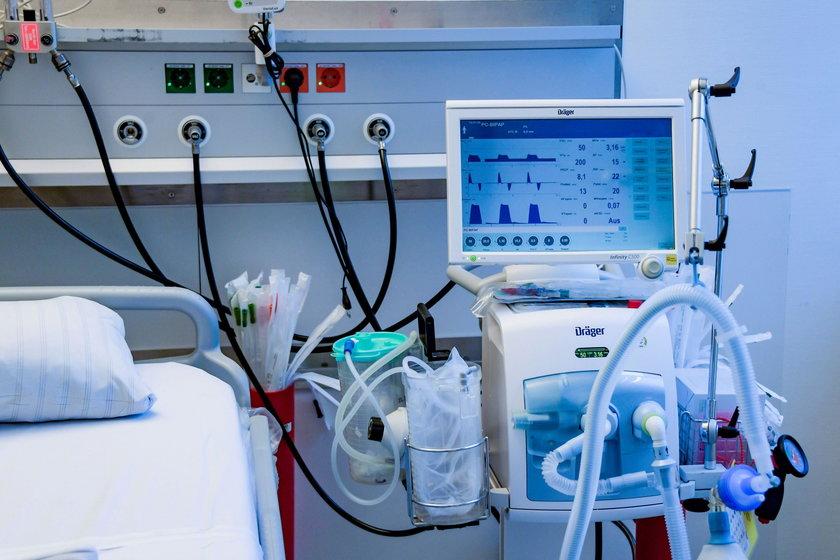 Rusza zbiórka na zakup respiratora dla szpitala Żeromskiego w Krakowie
