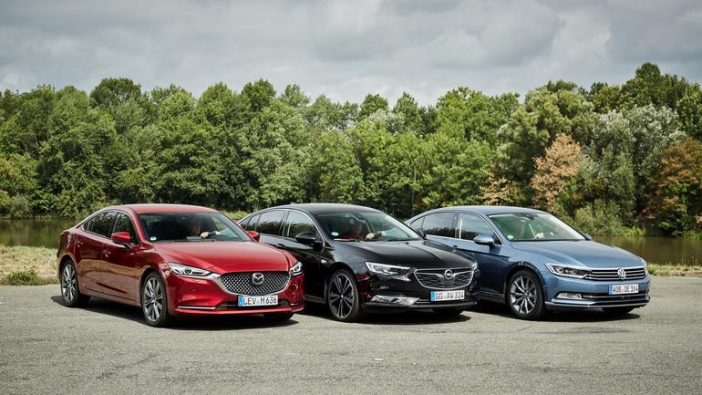 Porównanie - Mazda 6, Opel Insignia, Volkswagen Passat
