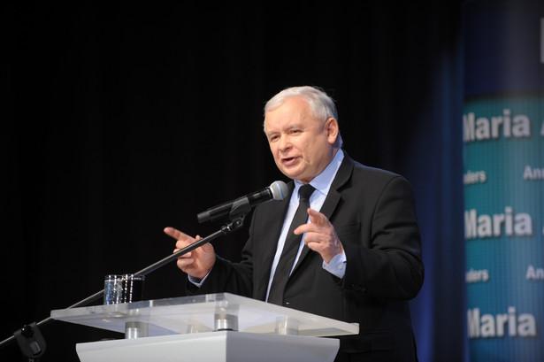 Prezes PiS Jarosław Kaczyński, PAP/Przemysław Piątkowski