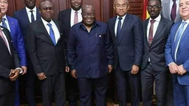 NAM 1 and Nana Addo