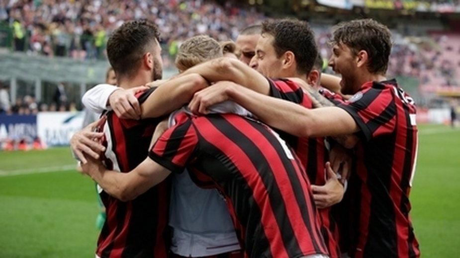 Radość piłkarzy AC Milanu