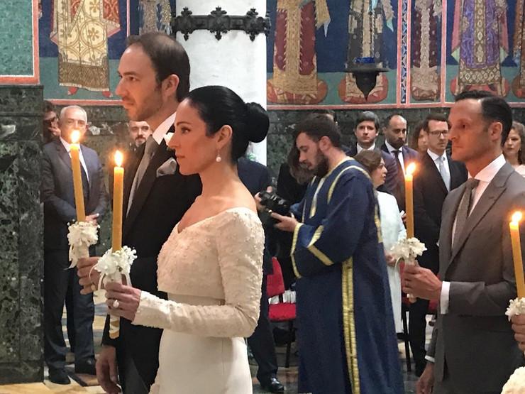 Princ Dušan Karađorđević i princeza Valerija Demuzio