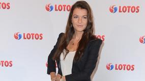 Agnieszka Radwańska w seksownej stylizacji na konferencji prasowej