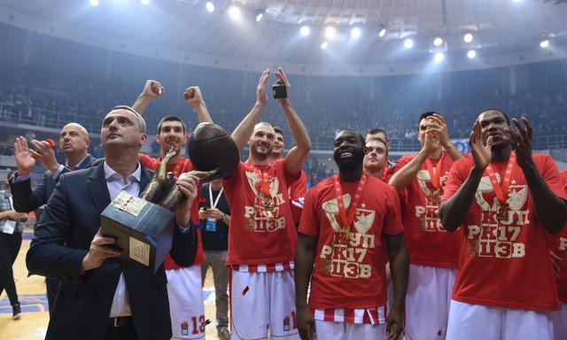 Košarkaši Crvene zvezde će pokušati da odbrane trofej