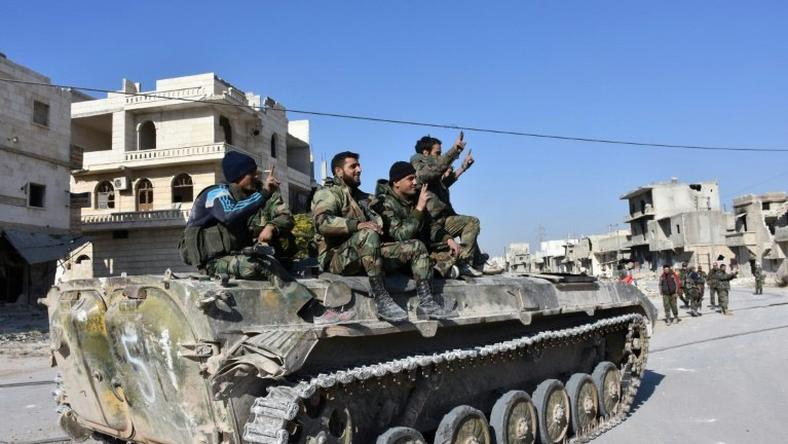 The Syrian regime launched its offensive to retake all of east Aleppo on November 15