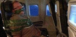 Pijesz w samolocie? Możesz tak skończyć