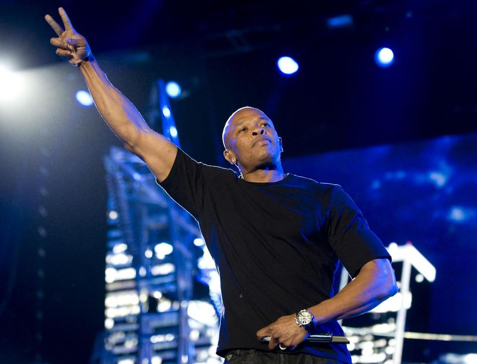 "3. Andre ""Dr. Dre"" Young (740 mln dolarów)"