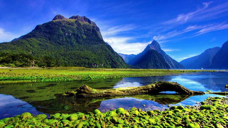 Mirror Lakes, Nowa Zelandia