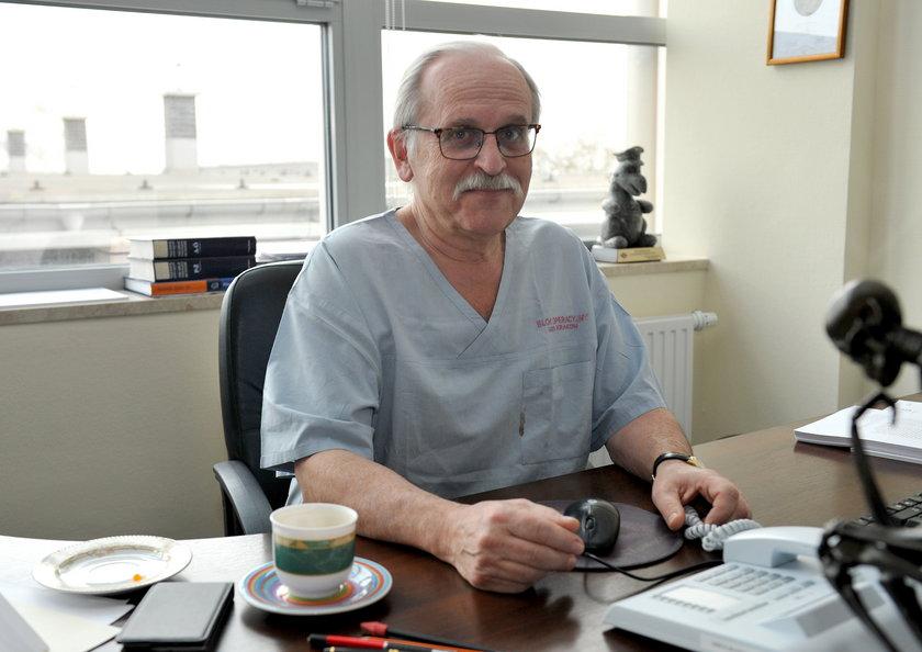 Jeden z kardiochirurgów
