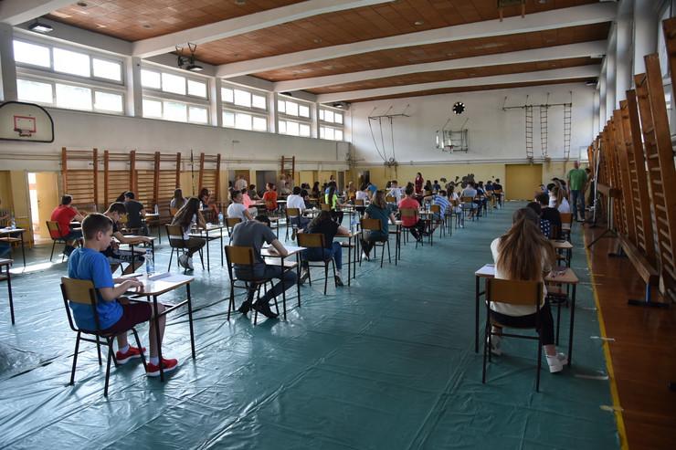 Kombinovani test, mala matura, učenici, škola, đaci, polganje beograd, oš vuk karadžić