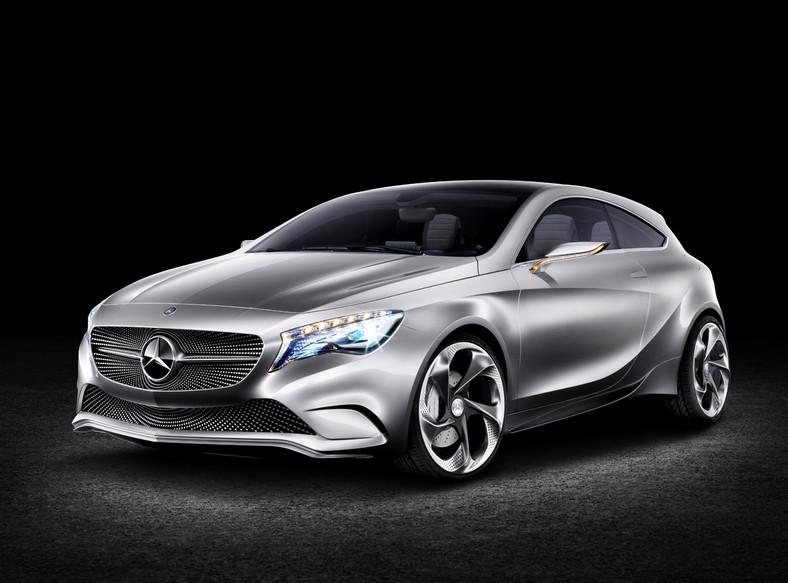 Mercedes klasy A concept, czyli nowy wózek z radarem