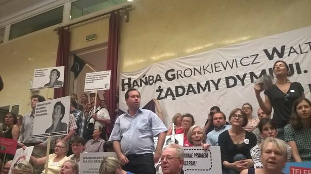 Sesja rady miasta ws. reprywatyzacji Fot. Patryk Słowik