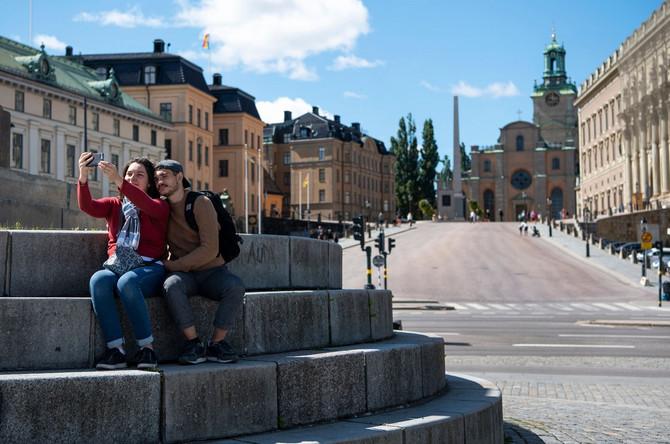U Švedskoj krivulja počinje da pada