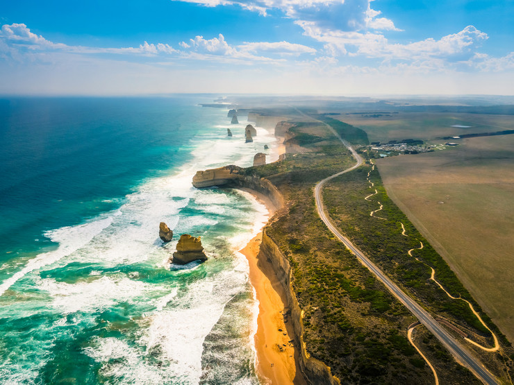 Great Ocean Road, Veliki okeanski put, Australija