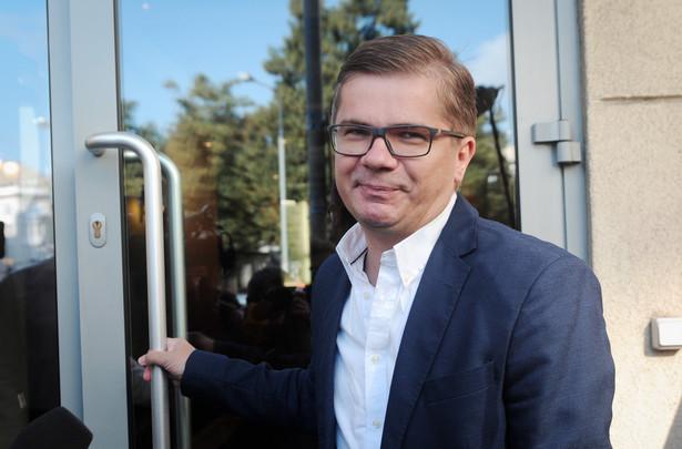 Latkowski w TVP Info ponownie podkreślił, że zobaczył plan śledztwa już po zatrzymaniu Marcina P. przez ABW