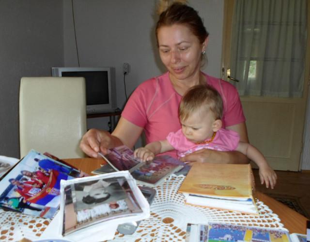 Ponosna majka: Dušanka Jelača sa unukom Nikolinom