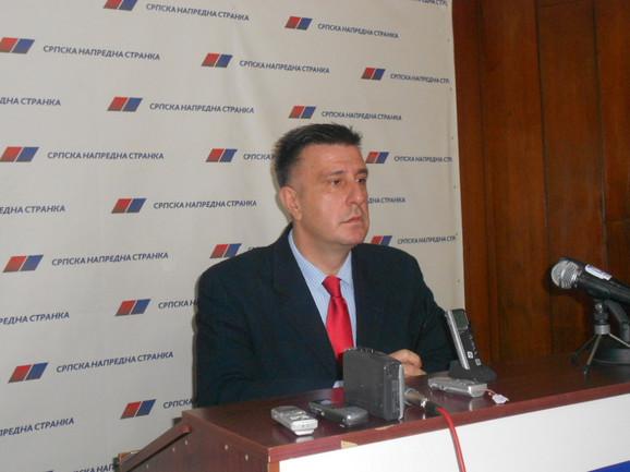 Novi gradonačelnik Slobodan Gvozdenovic (SNS)