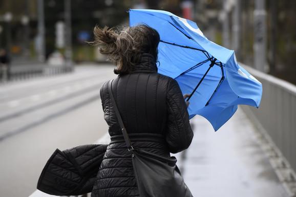 Moguća je pojava oluja u središnjem delu Evrope