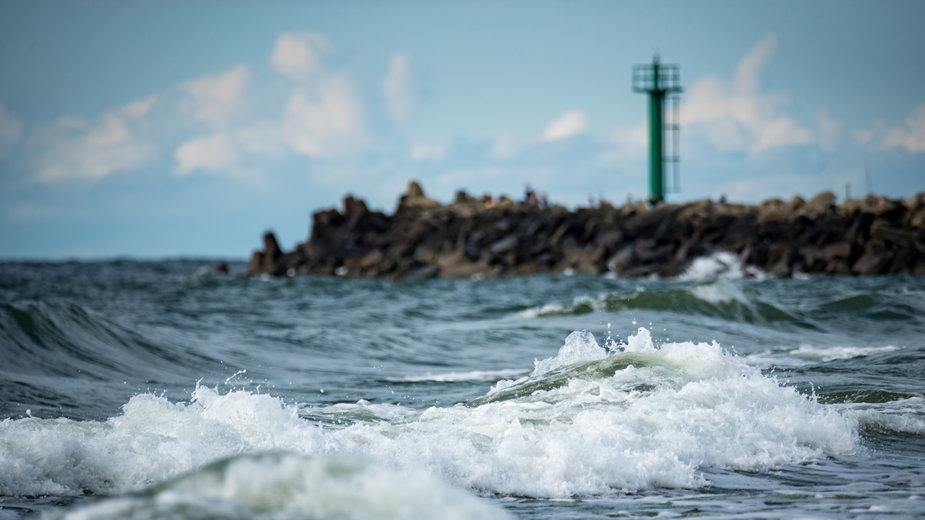 Podnoszący się poziom Bałtyku może zagrażać miastom na wybrzeżu