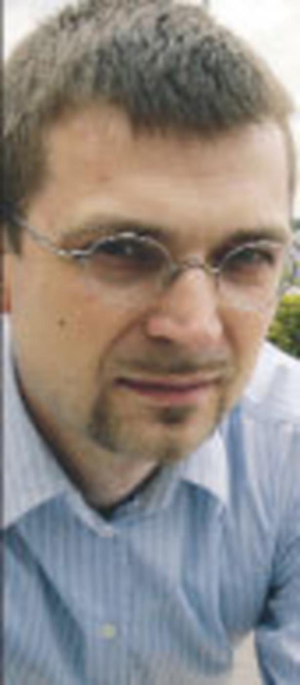 Grzegorz Zalewski ekspert DM Banku Ochrony Środowiska, twórca portalu futures.pl