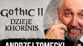 Andrzej Tomecki - kurier AK, aktor, niezapomniany głos z Gothica