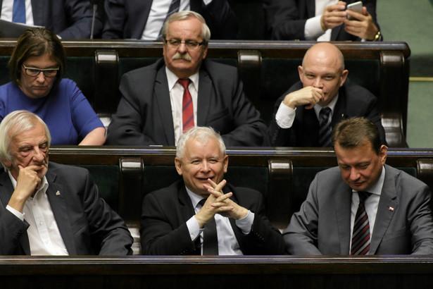 Ryszard Terlecki, Jarosław Kaczyński, Mariusz Błaszczak