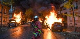 Horror w Paryżu. Na ulicach giną ludzie, niszczone są zabytki! Czegoś takiego nie było tu od lat