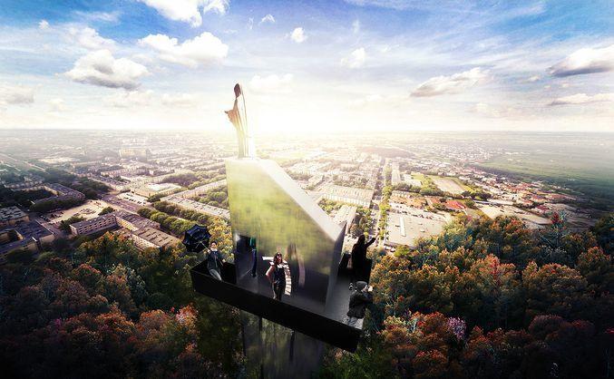Projekt wieży studia Tynk Tank