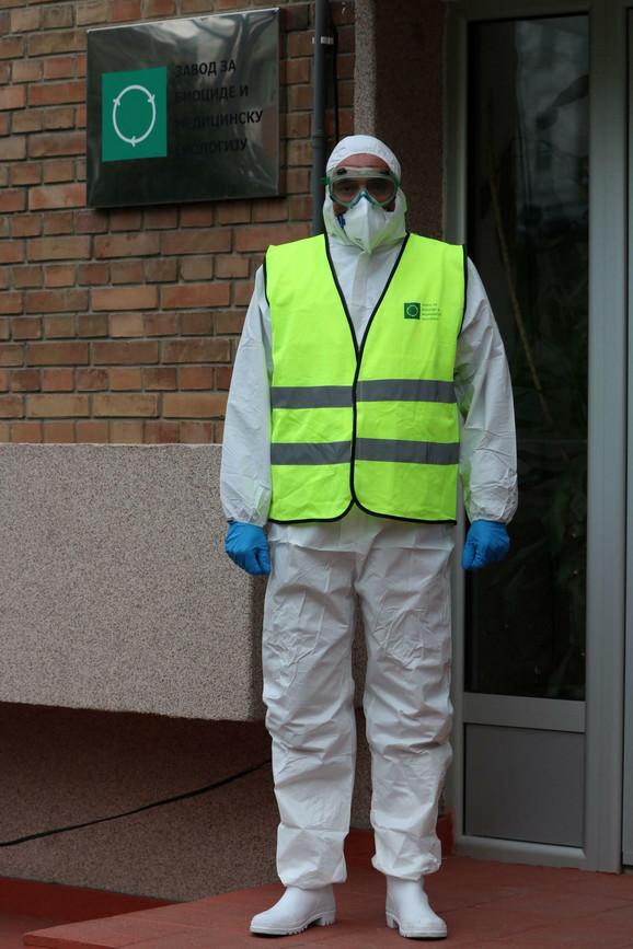 Ovako će izgledati radnici koji će vršiti dezinfekciju