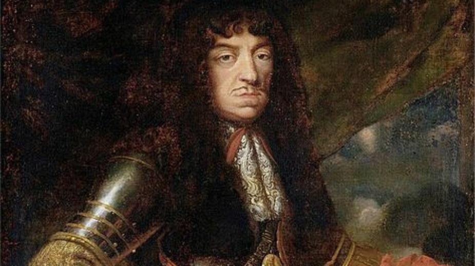 Portret króla Jana II Kazimierza Wazy - autor: Daniel Schultz - domena publiczna