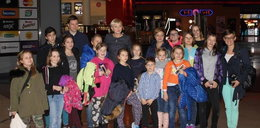 Agata Duda zabrała gromadkę dzieci do kina