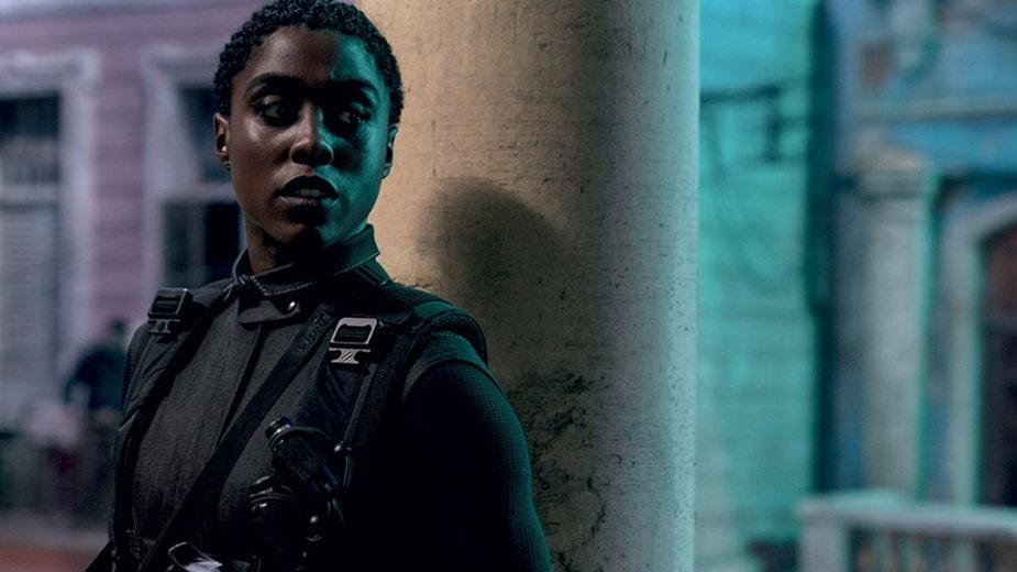 """Lashana Lynch jako Nomi w filmie """"Nie czas umierać"""" (2020)"""