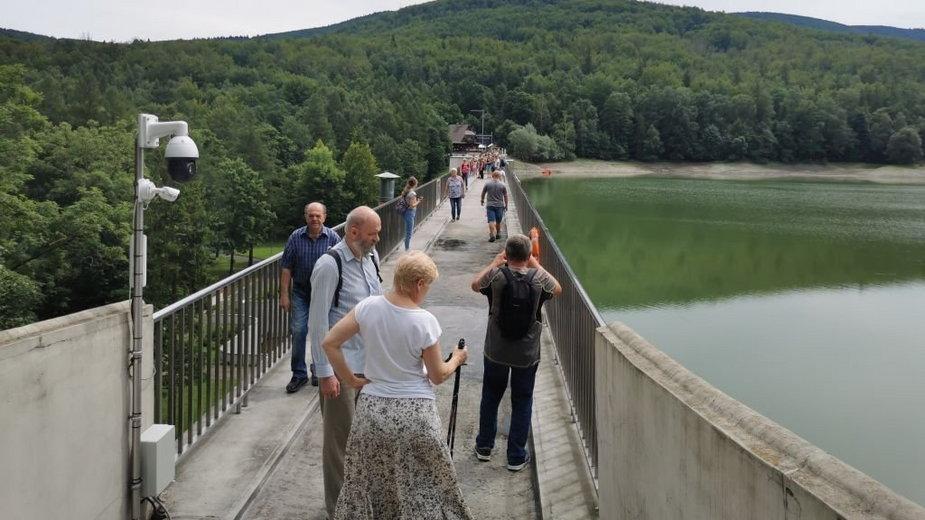 Korona zapory w Wapienicy była dostępna dla mieszkańców
